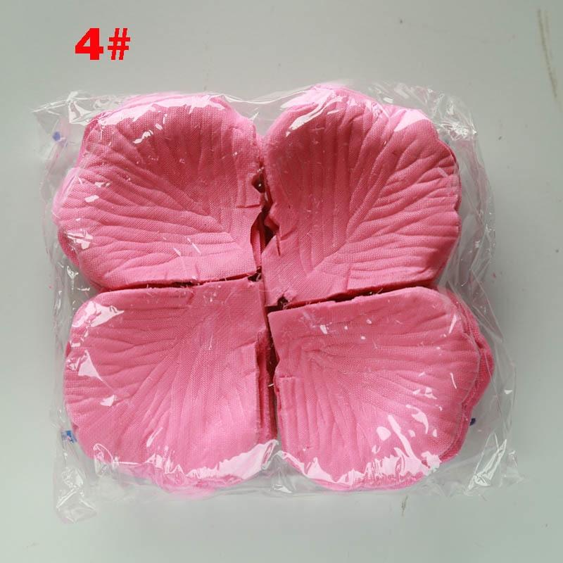 Rose Petals 1000 Pcs/lots Romantic Wedding Party Decoration Artificial 2020 Flowers Petals Flowers 40 Colors Silk Petali Di Rosa