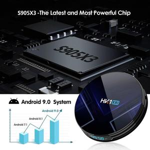 Image 3 - Android 9.0 Smart TV BOX HK1 X3 Amlogic S905X3 4GB RAM 128GB 2.4G/5G Dual Wifi BT4.0 1000M LAN USB 3.0 H.265 8K TV Set Top Box
