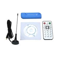 Мини Портативный цифровой USB 2,0 TV Stick DVB-T + DAB + FM RTL2832U + FC0012 чип Поддержка SDR тюнер приемник
