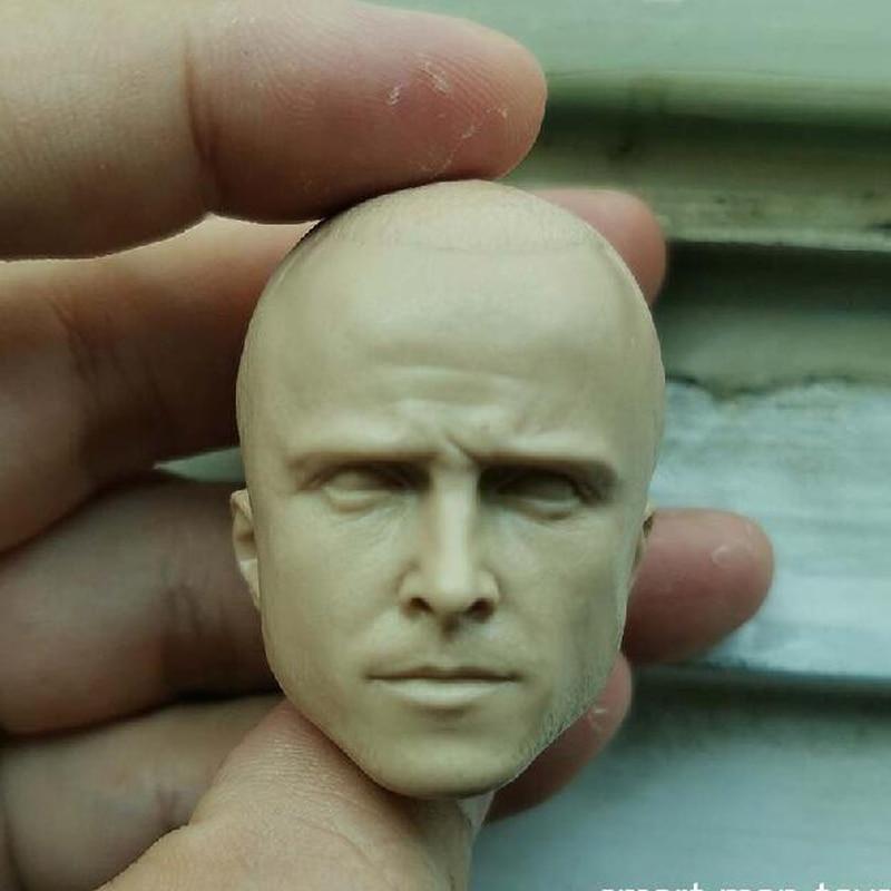 "1:6th Green hair xXx Ruby Rose Head sculpt For 12/"" Female Figure Doll Toys"