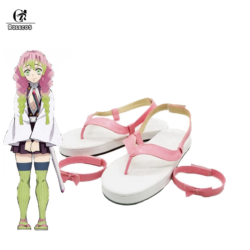 Rolecos Kimetsu No Yaiba Kanroji Mitsuri Cosplay Shoes Anime Demon Slayer Cosplay Sandals Girl Flip Flops Women Pink Shoes Shoes Aliexpress The series with the most characters is demon slayer: rolecos kimetsu no yaiba kanroji mitsuri cosplay shoes anime demon slayer cosplay sandals girl flip flops women pink shoes