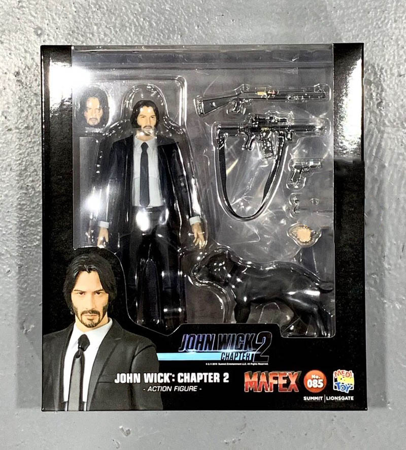 John Wick Chapter 2 Action Figure 15cm 14