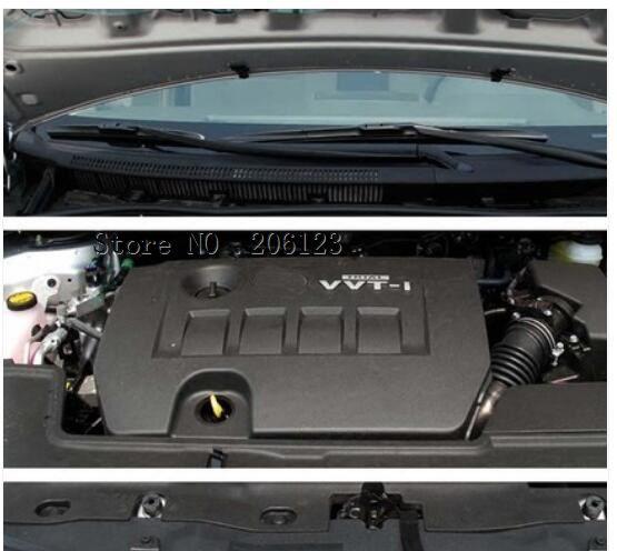 Ajuste para Toyota Corolla 2007 2008 2009 2010 2011 2012 2013 para Toyota Voxy 2018 cubierta del motor