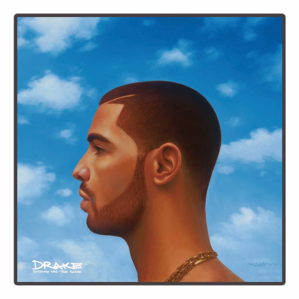 Drake Nothing Was The Same Rap Music Album art silk Poster home decor 12x12in livingroom wall decration gift 24x24 image