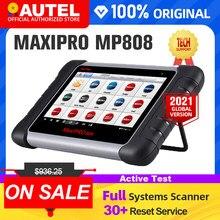 Autel maxipro mp808 ferramenta de diagnóstico obd2 scanner profissional oe-nível automotivo obdii scanner de diagnóstico chave codificação pk ds808