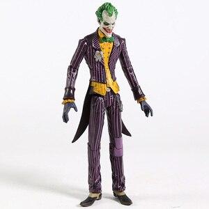 """Image 3 - DC Бэтмен Джокер ПВХ фигурку Коллекционная модель игрушки 7 """"18 см"""