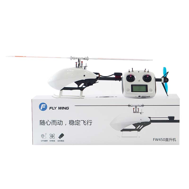 3D RTF 6CH RC Smart Helicopter FW450 2.4GHz Almost RTF Assembled RC Helicopter