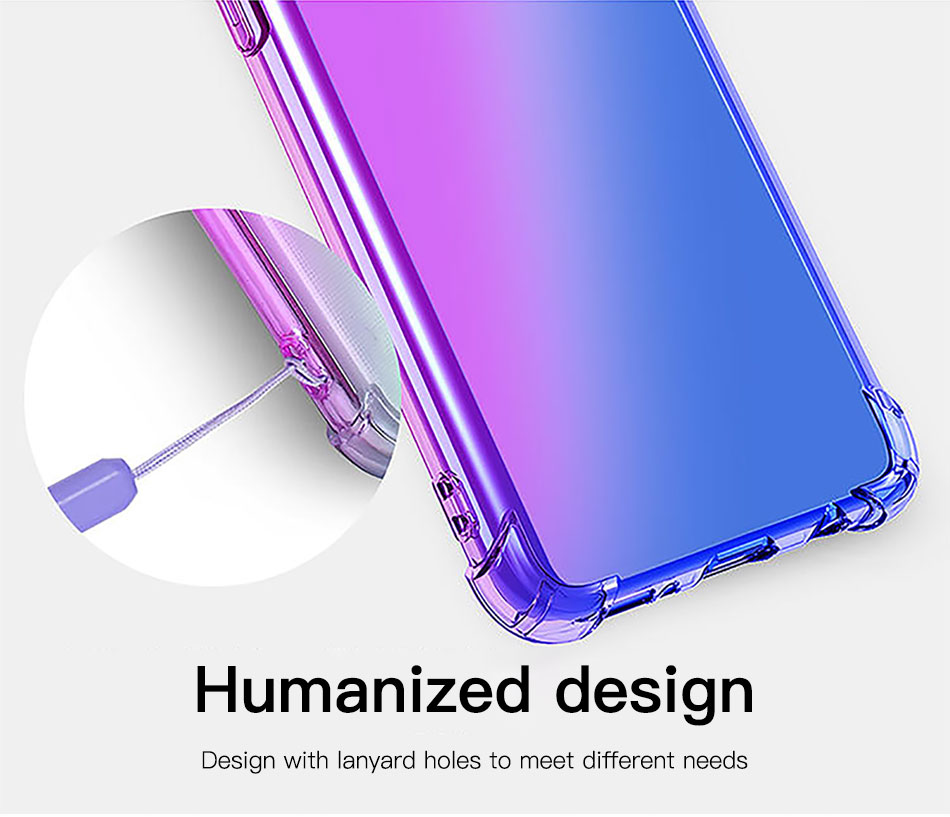 !ACCEZZ Colorful For Samsung A40 A50 Soft Phone Case Protection Back Cover For Galaxy A50 A40 TPU Thin Phone Shell Fitted Case (5)