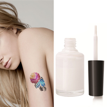 1/2/3PCS 15ml Clear One-time Colorful Glitter Powder Tattoo Glue Flash Powder Glue Long Lasting Body Art Paint Waterproof TSLM2