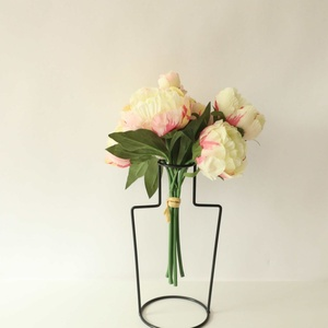 Wedding FlowersFake Flowers Home Decorations 1 Bunch Of Peony Bouquets Simulation Flower Style Home Decorations new