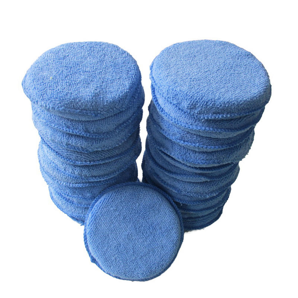 15 2cm polido encerado esponja esponja do carro 5 pces acessorios do carro ferramentas de lavagem