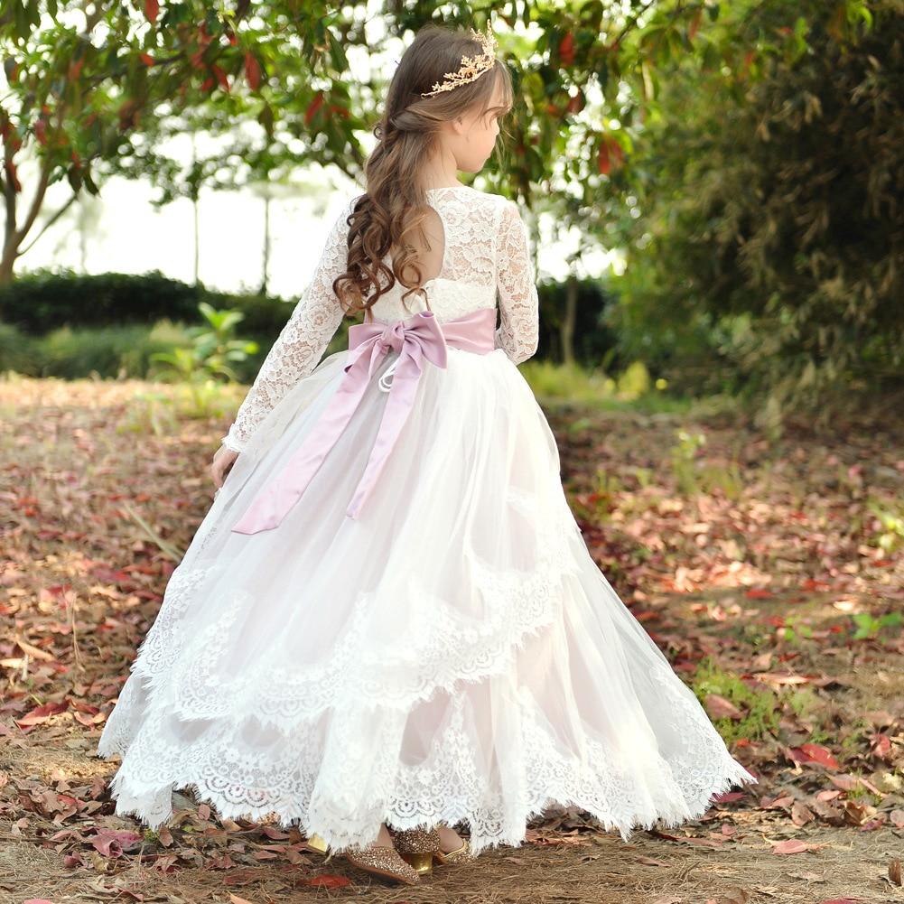 Automne et hiver enfants chemise vêtements pour enfants longues filles robe enfants princesse robe personnalisable robe formelle
