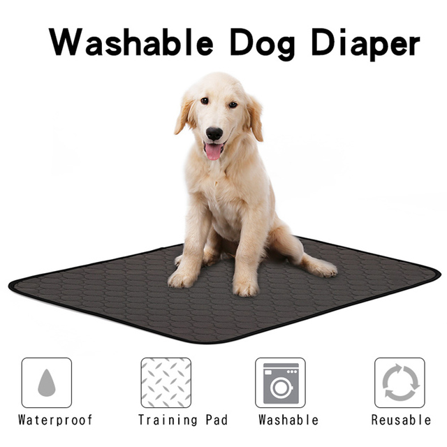 Reusable Dog Diaper Waterproof Pet Urine Mat Urine Water Absorbent Mat for Dog Cats Sleeping Bed Blanket Puppy Training Pads | Happy Baby Mama