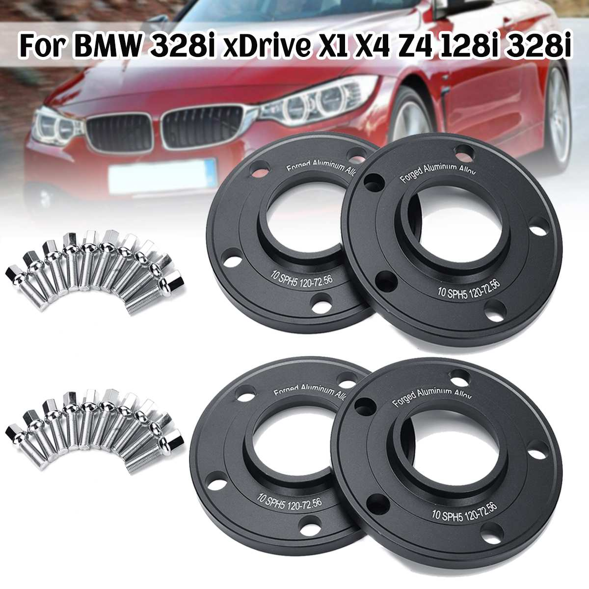 Hubcentric 15mm Alloy Wheel Spacers For BMW 5 Series E34//E60//E61 5x120 72.6