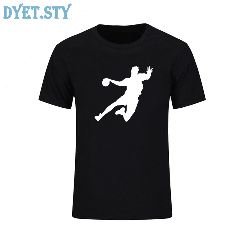 2019 Summer New Novelty handball t shirt Cotton Mens designs creative skateboard Short sleeve t-shirt