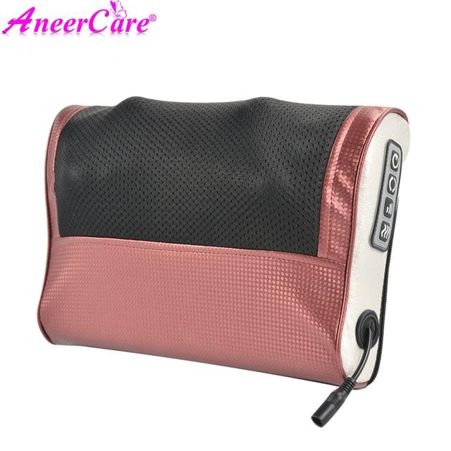 Neck Healthy Massageador Relaxation Shiatsu Electric Back Massager Neck Shoulder Massager Pillow Infrared Heating electric 5