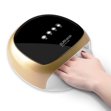 Electric 52W Drying Nails Power Machine Plus Lamp UV LED Nail Manicure Phototherapy Automatic Sensor Painless Mode Art Tool