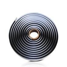 1 pz 4m nero gomma butilica colla faro sigillante Retrofit Reseal Hid fari fanale posteriore scudo nastri di colla per auto