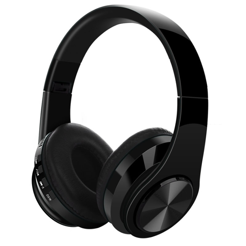 Headset Bluetooth V5.0 Wireless Plug-in Card Motion Folding Computer