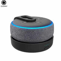 GGMM Echo Dot Charging Station Portable Battery Base For 3nd Generation Portable 20W 360 Degree Enhanced Sound(Dot Not Included)