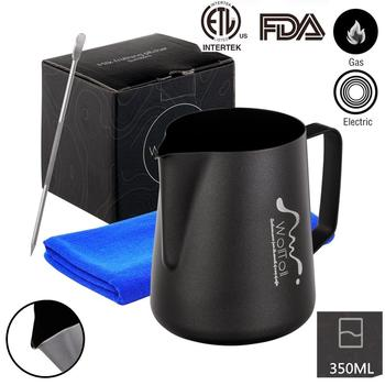 Non-stick Coating Stainless Steel Milk Frothing Pitcher Espresso Coffee Barista Craft Latte Cappuccino Cream Froth Jug Maker