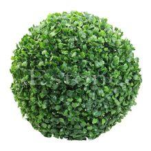 30 см Новый Искусственный шар из растений дерево Boxwood свадебное событие дома Outdo ation Hot