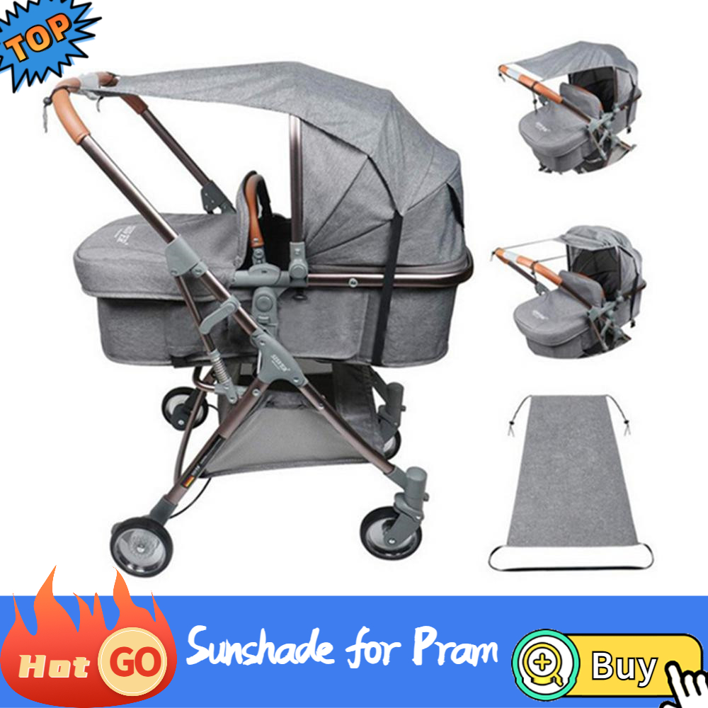 Universal Baby Stroller Accessories Sun Visor Sun shade Carriage Canopy Cover UV Resistant Hat for Kids Infants Prams Car Seat