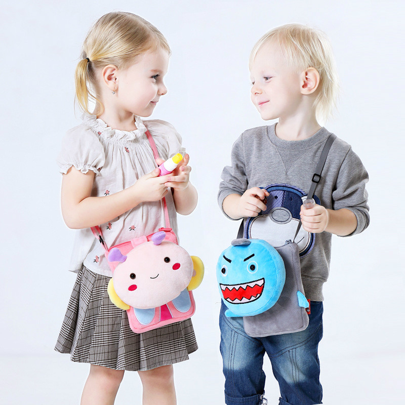 Animal children shoulder bag school toy kindergarten cute cartoon girl  toys for toddler boys