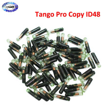 50 PCS, ID48 glass chip Auto Transponder Car Blank Key (After market) Tango Pro Copy ID48 Chip for VW Skoda Seat for Audi