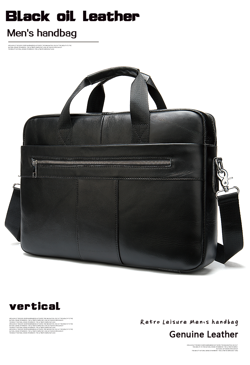 H3309b4c712cb45e0944d47991711169bd WESTAL Men's Briefcase Men's Bag Genuine Leather Laptop Bag Leather Computer/Office Bags for Men Document Briefcases Totes Bags