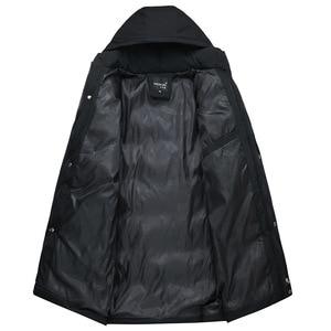 Image 5 - AKSR Mens Winter Jacket Coat Large Size Overcoat Parkas Thick Warm Hooded Winter Coat Men Windbreaker Casaco Masculino Inverno