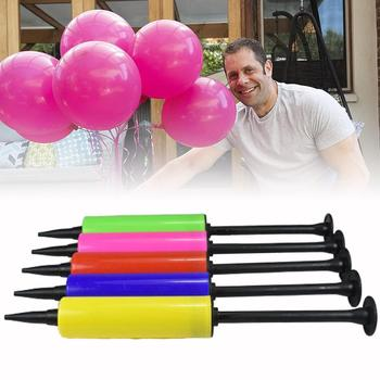 1pc Balloon Pump Portable Mini Pump Hand Push Inflatable Adult Birthday Decorations Accessories Tube Balloons Party Kid Inf D6L4 image