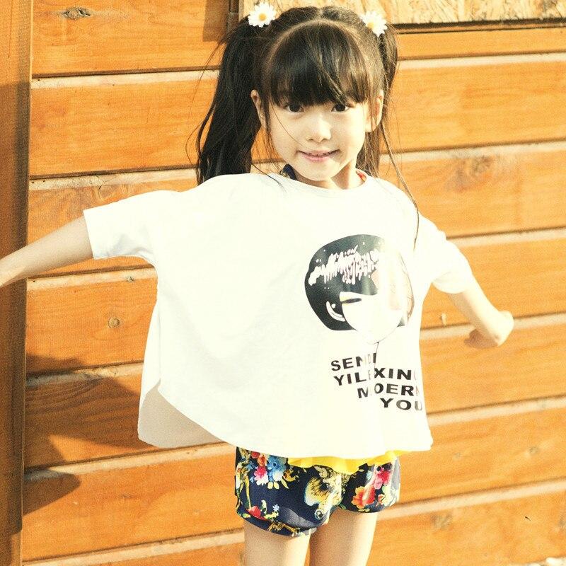 Wave Die Yi KID'S Swimwear Girls Big Boy Split Type Swimwear Three-piece Set South Korea Beach Bubble Hot Spring Tour Bathing Su