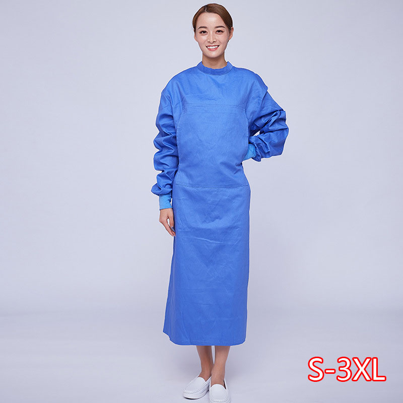 Men's And Women's Surgical Gown Quality Assurance Isolation Clothing Brush Hand Clothes Surgical Gown All-inclusive 2020