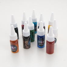 1 Bottle 10ml 12 colors Liquid Pearl Resin Pigment Dye UV Resin Epoxy Resin DIY Making Crafts Jewelry Accessories Dropshipping