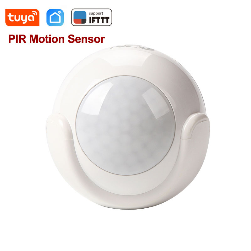 Tuya Smart Life WiFi PIR Infrared Motion Sensor Alarm Detector Wireless Super Mini Shape PIR Sensor Detector Home Alarm System