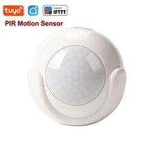 Tuya Smart Life WiFi инфракрасный датчик движения из PIR сигнализации Беспроводной Супер Мини датчик PIR датчик детектор домашняя сигнализация