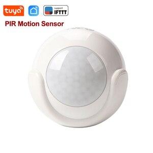 Image 1 - Tuya 스마트 라이프 WiFi PIR 적외선 모션 센서 알람 탐지기 무선 슈퍼 미니 모양 PIR 센서 감지기 홈 알람 시스템