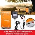 태양 전기 울타리 energizer 충전기 XSD-270A 고전압 펄스 컨트롤러 동물 가금류 농장 전기 펜싱 목자