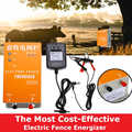 Solar Electric Fence Energizer Charger XSD-270A High Voltage Pulse Controller Animal Poultry Farm Electric Fencing Shepherd