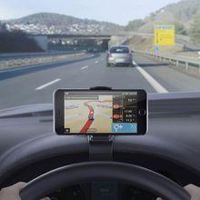 Car Holder Mini Air Vent Steering Wheel Clip Mount Cell Phon