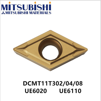 Mitsubishi DCMT11T304 UE6020 DCMT11T308-MV carbide inserts for lathe tools cnc turning tool holder S16Q-SDUCR11 steel DCMT11T302