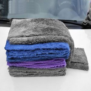 Image 4 - 350GSM Premium Microfiber Car Detailing Super AbsorbentTowel Ultra Soft Edgeless Car Washing Drying Towel 40X40CM Dropshipping