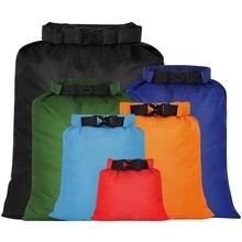 Waterproof Dry Bag Ultralight Drifting Snorkeling Dry Sacks Outdoor Storage Bag for Camping Boating Rafting Color 6PCS 2021 HOTS