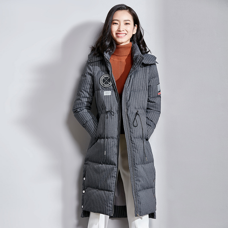 Winter Jacket Women 2020 Parka Korean White Duck Down Coat Female Puffer Jacket Korean Parkas Mujer VIM17D5051 YY2039