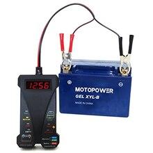 805 цифровой дисплей инструмент портативный тестер батарей звуковые подсказки автомобильные аксессуары система зарядки черный мотоцикл светодиодный анализатор