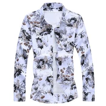 Beach Casual Floral Shirt For Man