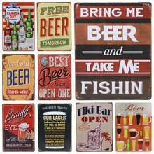 Get more info on the 30X20cm ICE Cold Beer Drink Beer Metal Signs Poster Art wall decor Pub Bar Vintage Craft Pub Club Home Decorative Tin Sign H57