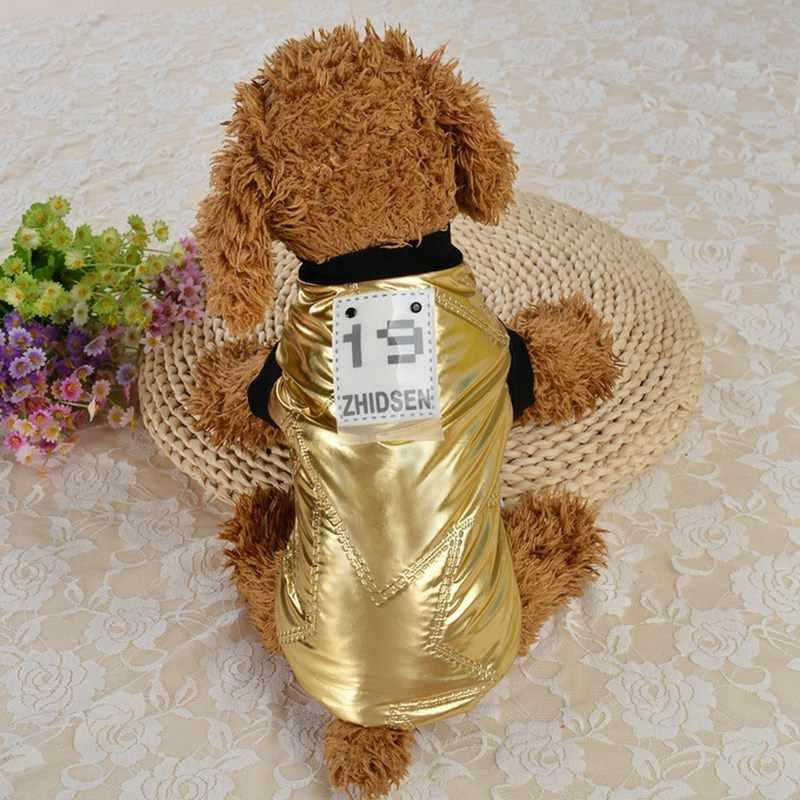 Fashion Lustige Winter Haustier Hund Kleidung Super Warme Jacke Dicker Baumwolle Mantel Hunde Haustiere Kleidung Für Französisch Bulldog Welpen XS-XL