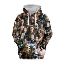 Tessffel Star Wars Darth Vader New Fashion Harajuku casual 3D Printed Hoodie/Sweatshirt/Jacket/shirts Mens Womens hiphop style-2 стоимость